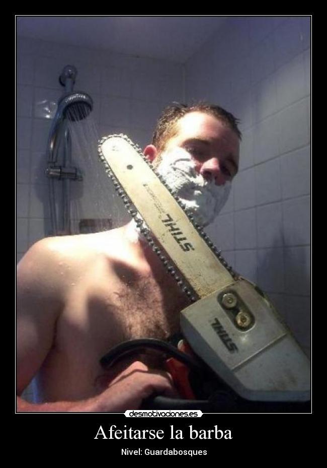 afeitarse belleza