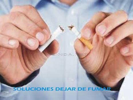 soluciones remedio casero dejar de fumar