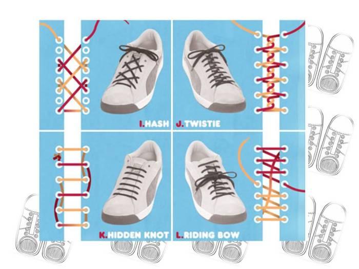 2 tecnicas de como amarrarse los zapatos