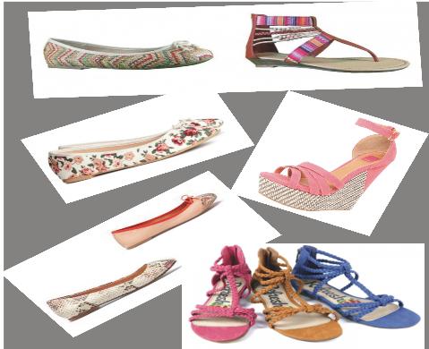 Tendecia calzado primavera  estilos