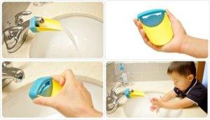 tarro gaseosa para lavamanos niños