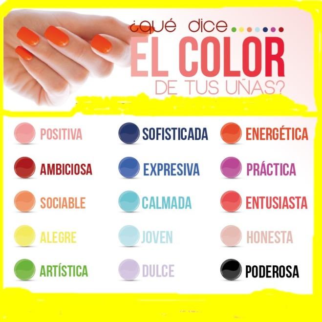 lo que dice el color de tus uñas soylinda